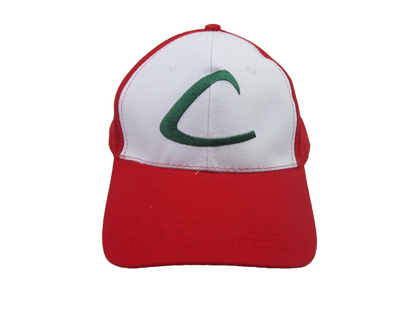 Brdwn Pocket Cosplay Ash Ketchum Hatt Peaked mesh baseball - Maskeradkläder och utklädnad