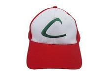 Pocket Monster Pokemon Cosplay Ash Ketchum Cartoon Logo Hat Peaked Cap Baseball Cap Sunhat