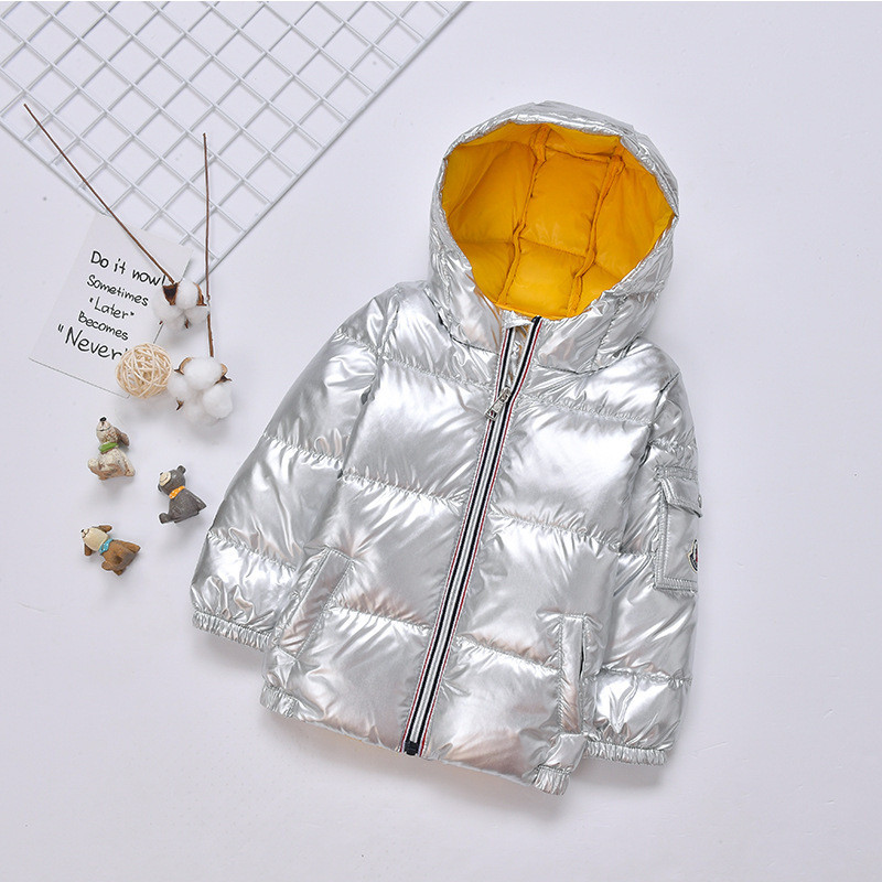 Winter Children Down Jacket Parka for Girls Boys Coats Kids Thicken Warm Outerwear Snowsuit Baby Clothes Snow Wear Winterjas