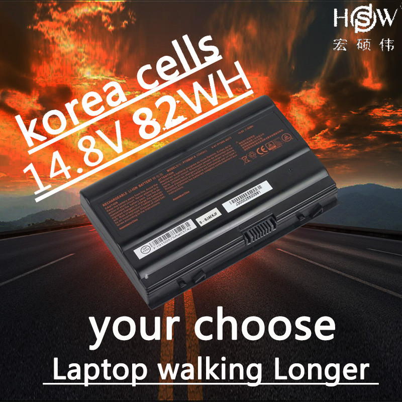 HSW 14 8V 82Wh P750BAT 8 Battery For Clevo P750ZM P751ZM P771ZM P770ZM P770ZM G One K73 5N Geforce GTX 970M Terrans X599 XMG in Laptop Batteries from Computer Office