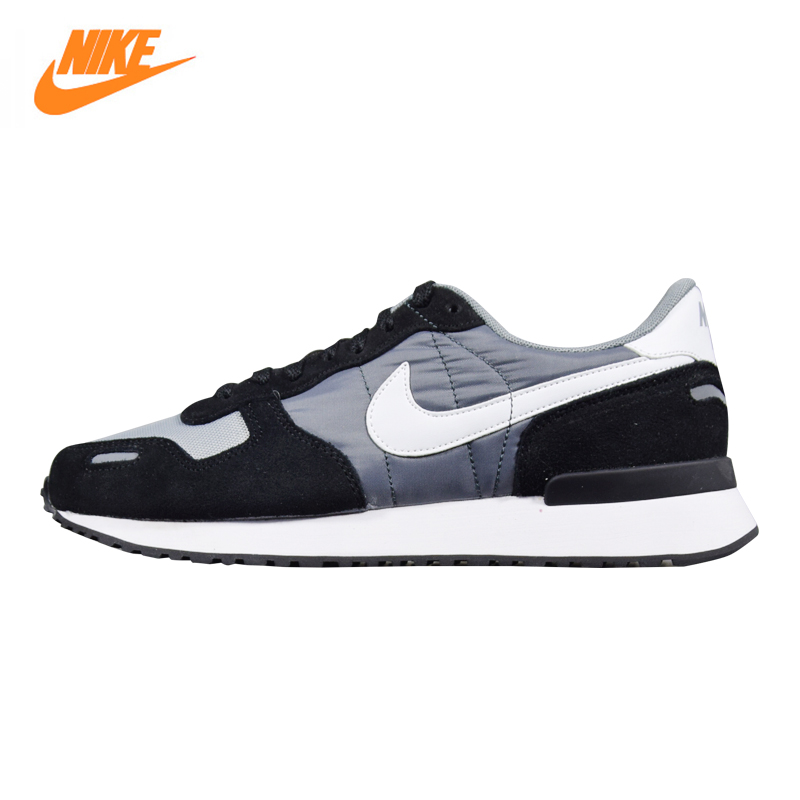 Nike AIR VRTX Men's Running Shoes, Outdoor Sneakers Shoes, Black & Gray, Breathable Wearable Non-slip Lightweight 903896 001 mulinsen men s running shoes blue black red gray outdoor running sport shoes breathable non slip sport sneakers 270235