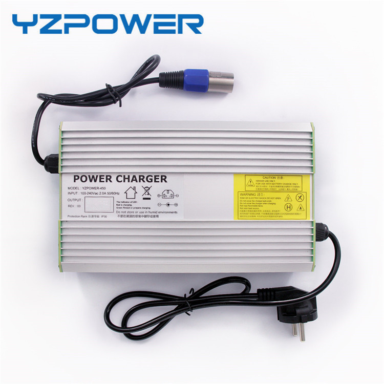 YZPOWER 12.6V 20A 19A 18A Lithium Battery Charger For 12V Polymer Battery Ebike E-bike 30a 3s polymer lithium battery cell charger protection board pcb 18650 li ion lithium battery charging module 12 8 16v