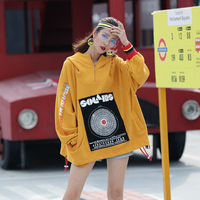 Autumn Clothing New Pattern Street Personality The Wind Kong Design Easy Lazy Bat Type Even Leisure