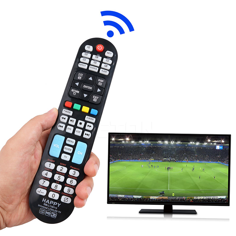 kebidu Hot Sale RM-L1107+3 TV Remote Control Controller For all LED LCD TV Universal Remote 433MHZ high quality