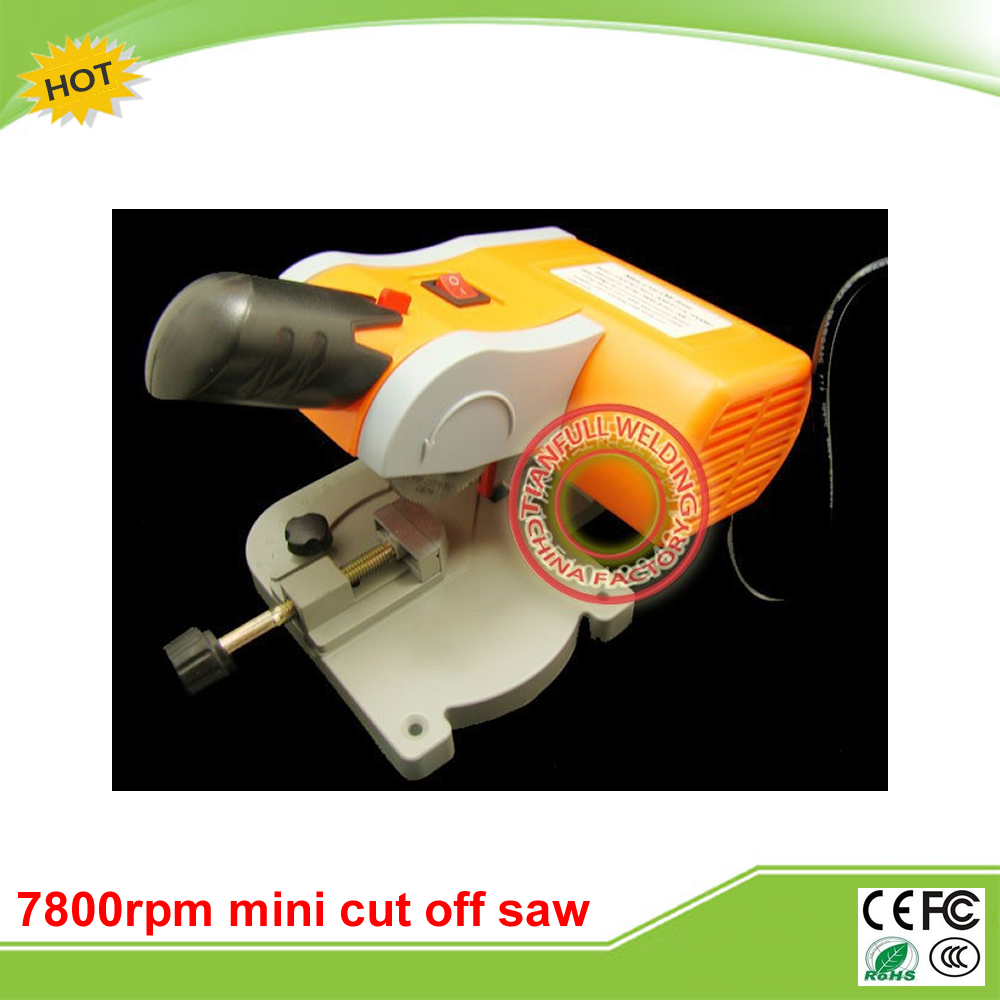 220v 7800rpm mini cut off saw mini mitre saw metals non-ferrous metals wood plastic non ferrous alloys