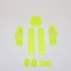 Image 5 - ChengHaoRan 30x 16 couleurs A B coloré L R boutons claviers pour Gameboy Advance boutons cadre pour GBA D Pads bouton marche/arrêt