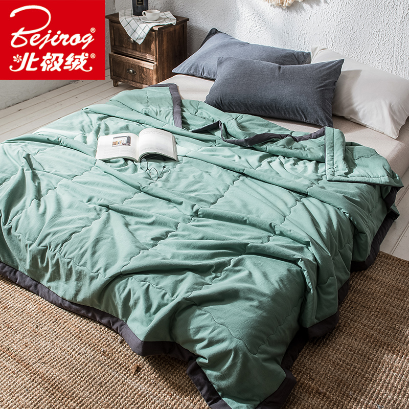Arctic Velvet Washed Cotton Summer Quilt Air Conditioned By Cool Summer Quilt Spring And Autumn Quilt Single Double Dormitory ThArctic Velvet Washed Cotton Summer Quilt Air Conditioned By Cool Summer Quilt Spring And Autumn Quilt Single Double Dormitory Th