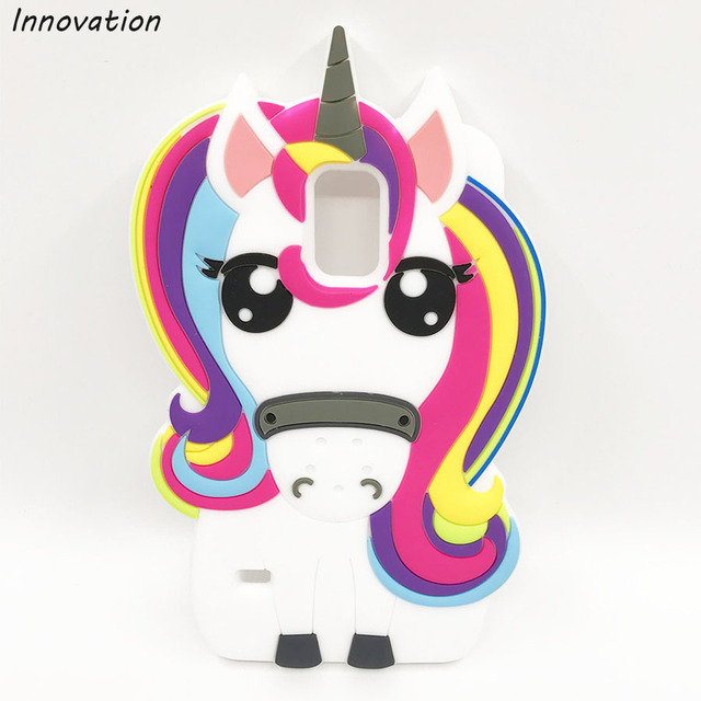 For Samsung Galaxy S5 Neo Case Cute 3D Unicorn Pony Horse