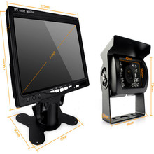 12V – 24V Car Rear View Wireless Backup Camera Kit + 7″ TFT LCD Monitor For Truck / Van / Caravan / Trailers / Campers