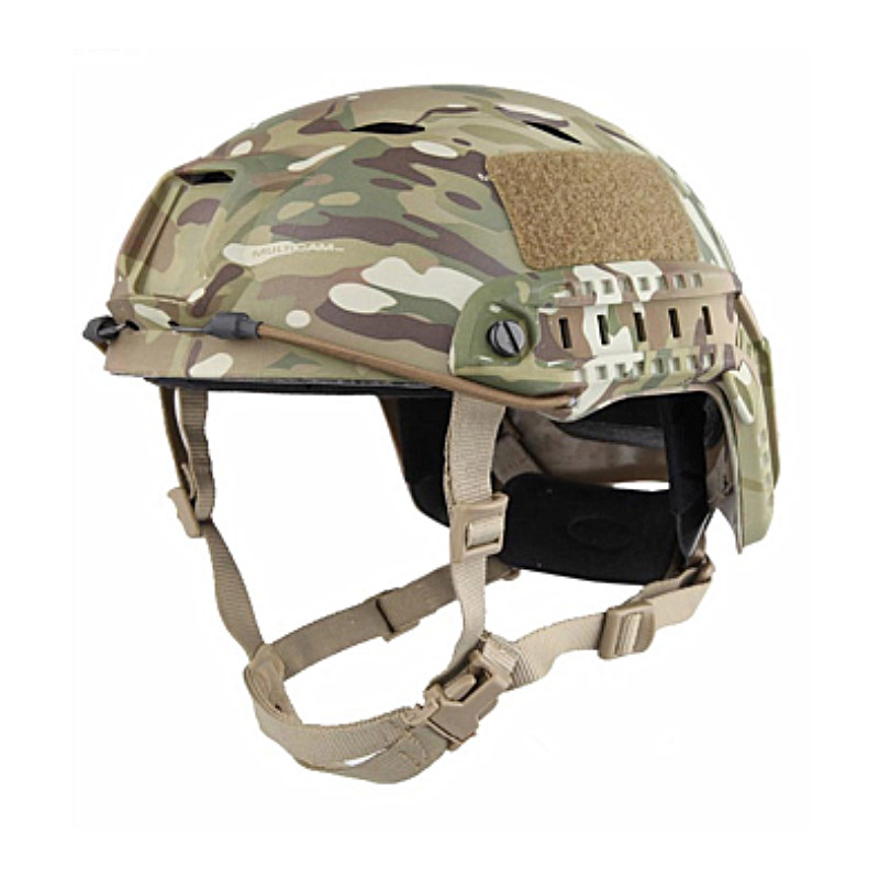 Sports Helmets New Fast Base Jump Military Camouflage Adjustable Protective Helmet BJ Type for Hunting Free Shipping sports helmets tb fma cp dummy af helmet fast base jump helmet tb310l black for airsoft paintball and hunting with free shipping