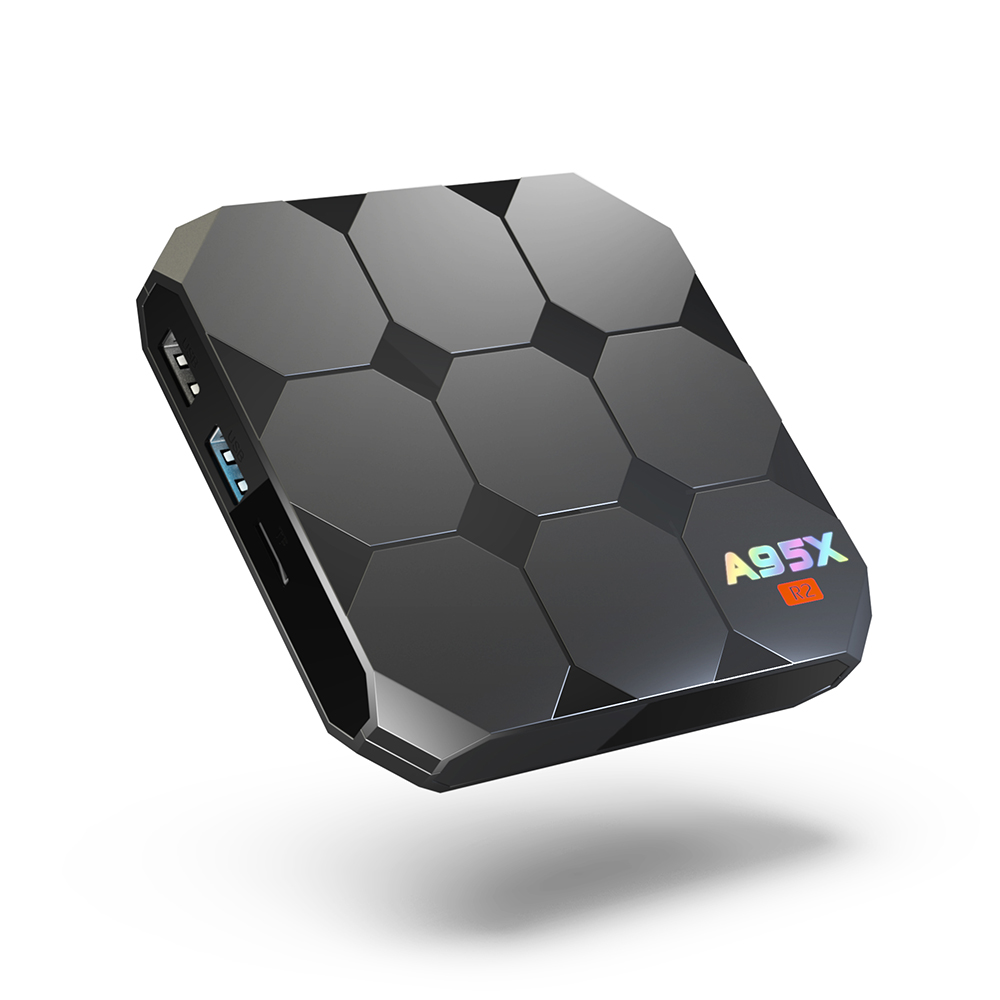 A95X R2 TV Box Android 7.1 Quad Core Amlogic S905W Smart TV Box 2GB 16GB 4K Set-top Box HD WiFi Smart Media Player PK X96mini a95x r1 smart tv box android 6 0 amlogic s905w quad core 1gb8gb 2gb16gb set top box 4k wifi vp9 h 265 hd media player pk x96
