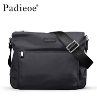 Padieoe New Arrival Durable Nylon Shoulder Bag For Men Casual Waterproof Crossbody Bags High Quality Men