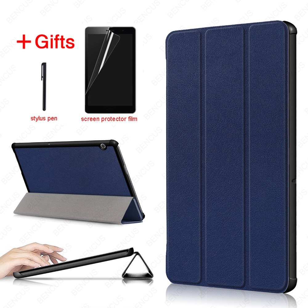 PU Leather Case For Huawei MediaPad T5 10 AGS2-W09/L09/L03/W19 Honor Pad 5 10.1