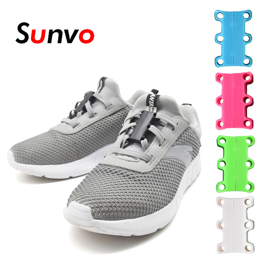 Zapatos Lazy Fuerte Sunvo Cordones Deporte Casuales Lace Sin Cierre De Rápido Magnéticos Para Hebilla Zapatillas AjLRq435c