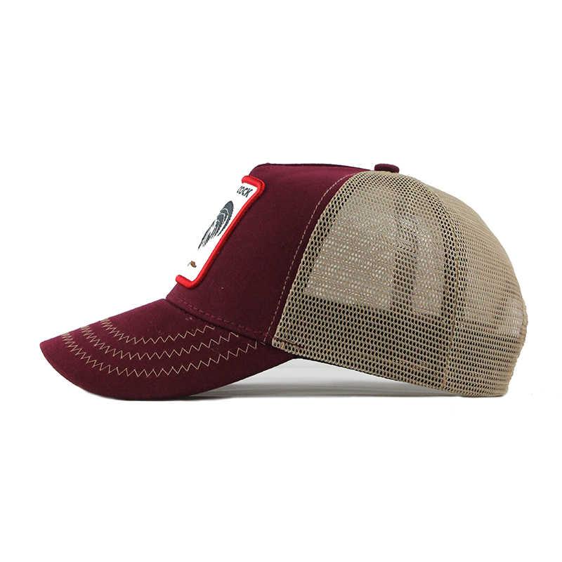 6d1cef41 ... [FLB] Summer Animal Baseball Cap Embroidery Mesh Cap Hats For Men Women  Snapback Gorras ...