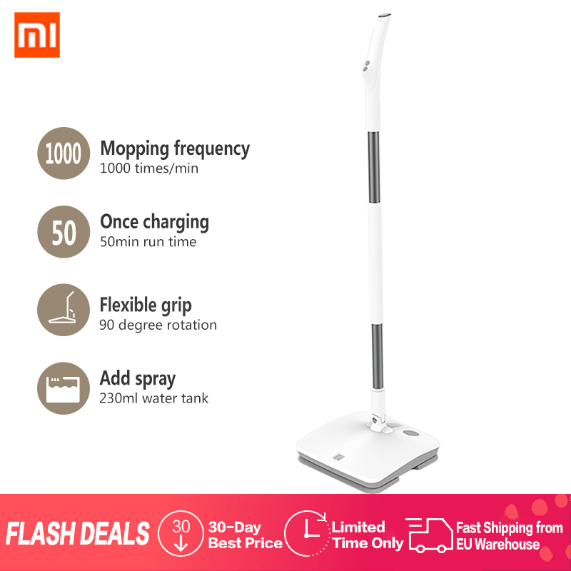 xiaomi mi cleaner swdk d260 handheld wireless electric wiper floor washers wet mopping with. Black Bedroom Furniture Sets. Home Design Ideas
