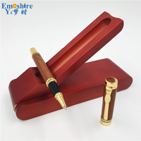 New Luxury Brand Wood Ball Pens Ballpoint Pen With Creative Pattern Stationery Writing Pen for Parker Style Refill P467