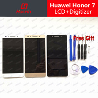 Huawei Honor 7 LCD Display Touch Screen 100 Original Digitizer Assembly Replacement Accessories For Cell Phone