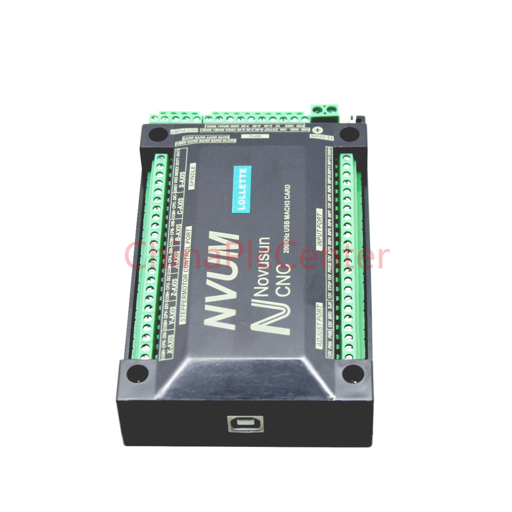 hight resolution of nvum v2 4 axis cnc controller mach3 usb interface board card 300khz for stepper motor in motor driver from home improvement on aliexpress com alibaba