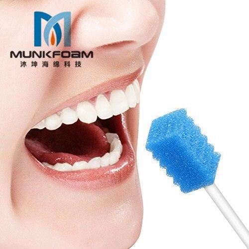descartavel dental clinic oral limpeza swab esponja 04