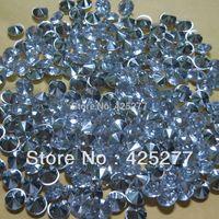 10000 pcs 4.5mm Prata Acrílico Diamante Wedding Party Confetti Decoração de Mesa Dispersadores 002045006