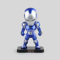 Marvel Blue ACE Attack Iron Man 3 MK 42 Mark VII PVC Action Figure Collectible Model