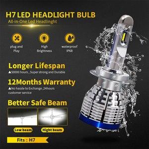 Image 3 - 2x Led H4 H7 H8 H9 H11 H1 9600LM 6000KรถLEDไฟหน้าหมอกโคมไฟ9005 HB3 9006 HB4 h10 9012(HIR2) หลอดไฟหมอก12V 24V