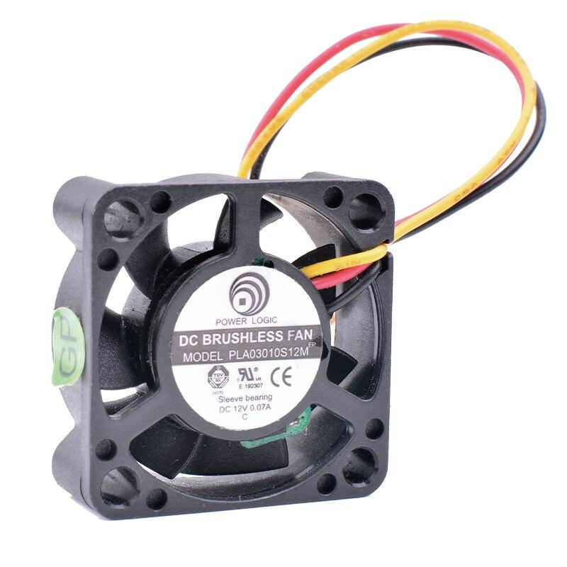 Охлаждения революция PLA03010S12M 3 см 30 мм вентилятор 3010 12 В 0.07A сети маршрутизатора Box Micro Вентилятор охлаждения