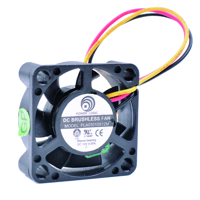 COOLING REVOLUTION PLA03010S12M 3cm 30mm fan 3010 12V 0.07A Router Network Box Micro Cooling Fan 3cm huge