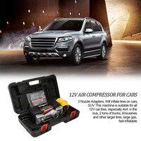 Новый Feature12V Автоматическая цифровая воздушный компрессор 150Psi автомобиля шины комплект Надувное Портативный воздушный компрессор с цифров