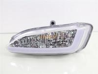July King LED Light Guide Daytime Running Lights DRL, Fog Lamp Assembly Case for Hyundai 2013 All new Santa Fe (AU) / 2012 IX45
