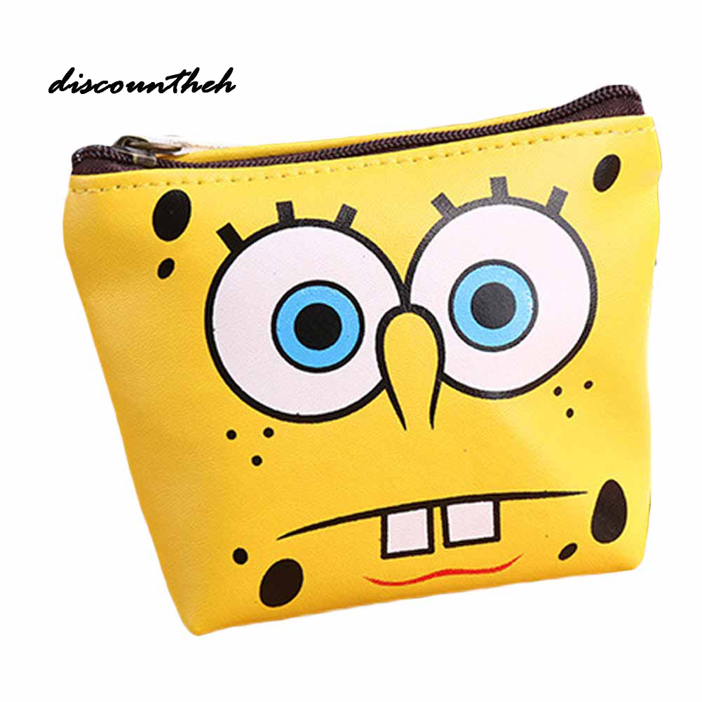 New PU Leather Mini Money Bags Cartoon 3D Embossed Children Coin Purse Zero Wallet For Girls Boys Gifts Coin Purse new romantic time dumplings pattern mini wallet cartoon coin purse paris tower sails print bags 2017 classic retro coins purse