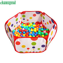 Pop up Hexagon Polka Dot Children Ball Play Pool Tent Carry Tote Toy  Levert Dropship Oct 18