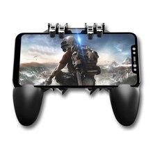 Мобильный игровой контроллер AK66 шесть пальцев PUBG геймпад триггер Кнопка прицеливания L1R1 шутер джойстик для IOS Android мобильный телефон U