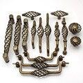 Vintage bronze Birdcage kitchen cabinet dresser cupboard door handles furniture Hardware Accessories,Free shipping.