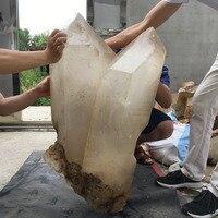 319LB Natural Clear Quartz Obelisk Rough Gemstone Crystal Specimen Healing