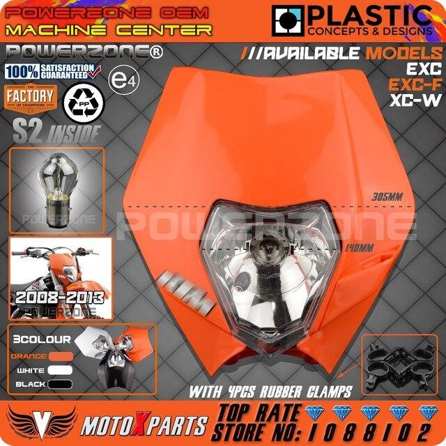 Мотоцикл Байк Мотокросс Супермото Эндуро Универсальный Фара передняя Для KTM SX EXC XCF SXF XCW SMR Обтекателя