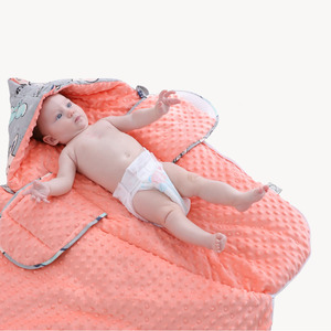 Image 5 - Saco de dormir para bebé, dibujos animados, algodón, saco de dormir de carrito, sobres para silla de ruedas para recién nacido