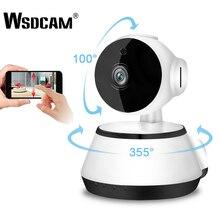 Wsdcam 720p câmera ip sem fio de segurança em casa câmeras ip câmera de vigilância wifi visão noturna cctv câmera monitor do bebê mini cam