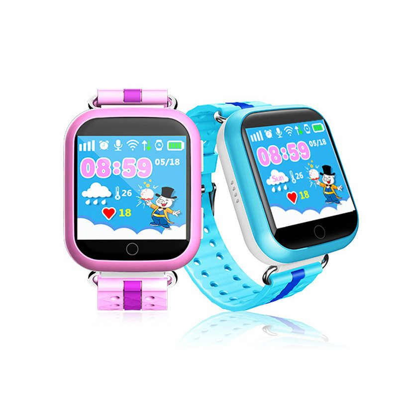 2019 HOT GW200S Q100 Kid Smart Watch GPS Wifi Positioning SOS Tracker Baby Safe Monitor Smartwatch pk Q90 Q50 Q528 Q750 Watches-in Smart Watches from Consumer Electronics