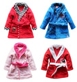clearance sale! coral fleece kids/children/boys/girls cartoon robe, sleepwear pajamas, bathrobe, baby/toddler's robe(MOQ: 1pc)
