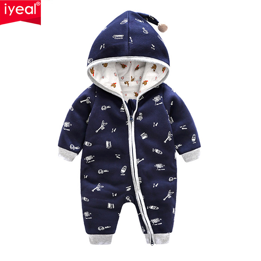IYEAL New Arrival 2018 Spring Autumn Baby Boy Clothes Newborn Cotton Tracksuit Clothing Baby Long Sleeve Hoodies Infant Jumpsuit jjlkids baby boys clothing set 100% cotton brand boy tracksuit long sleeve fashion 2015 new arrival children outfit