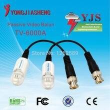 Single Channel Passive Video Balun lightning protection Passive Video Balun UTP Transivers/connector for cctv cameras 10PCS