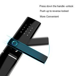 Image 5 - Умный домашний замок без ключа безопасности, Wi Fi замок с паролем и RFID картой, беспроводной дистанционный шлюз с приложением