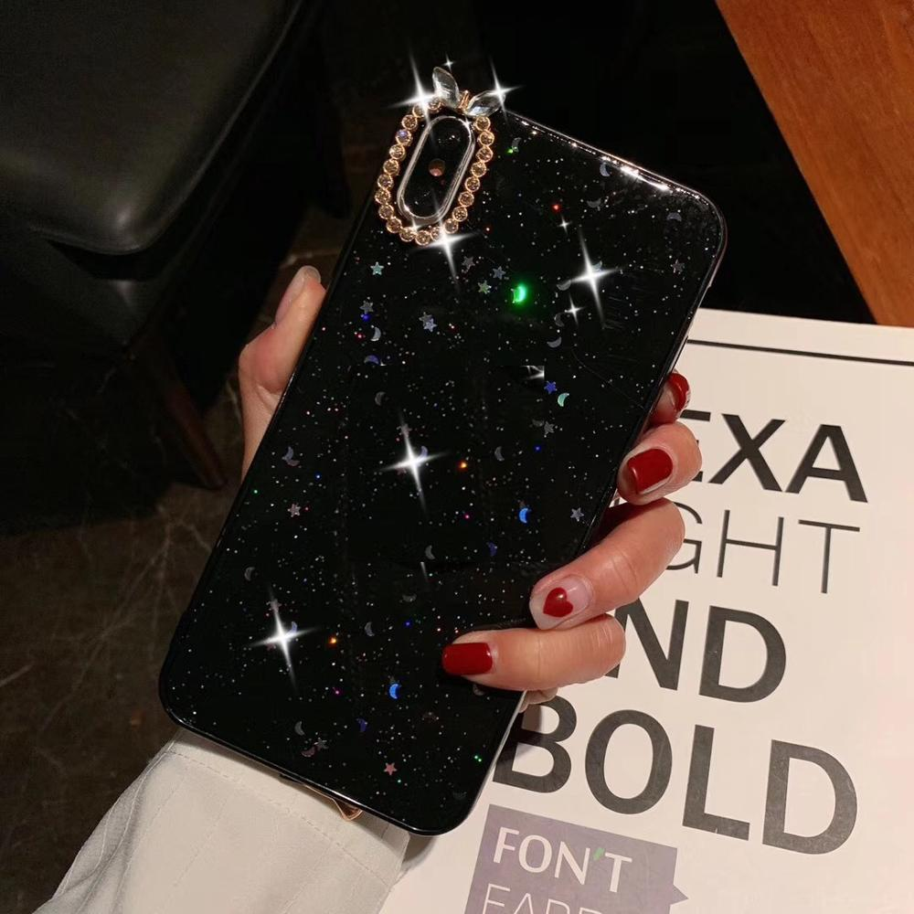 best sneakers 1c0d9 5cd0a Popular Diamond Rhinestone Phone Cover Case With Holder Expanding ...