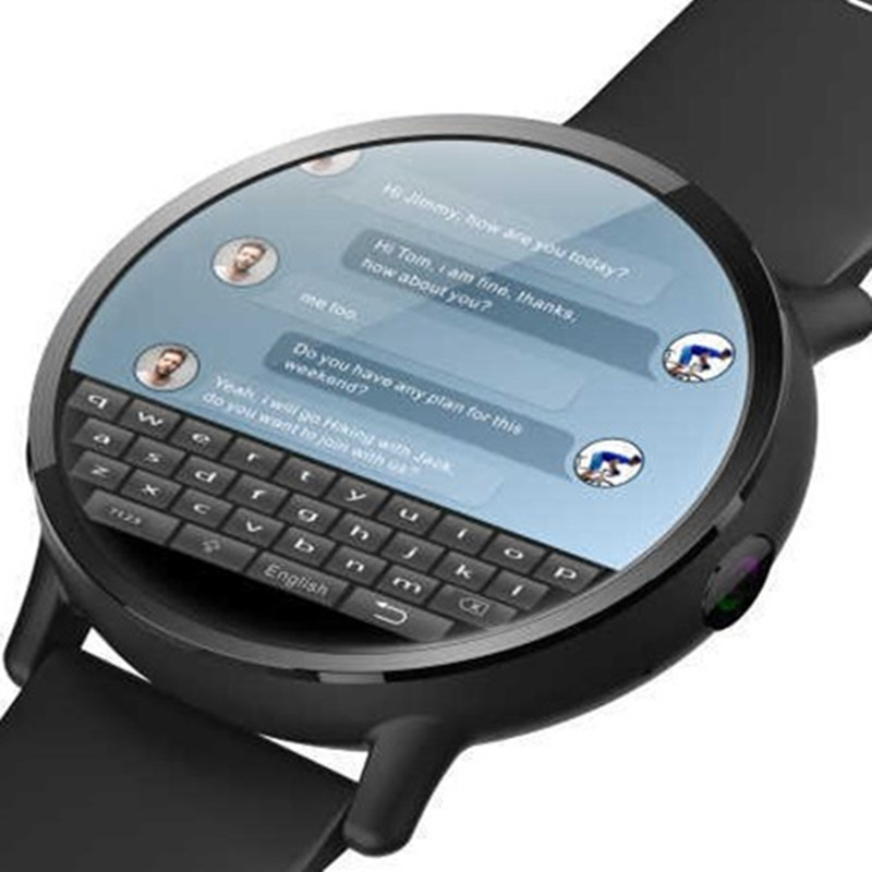 Montre Smart Watch Android 7.1 4g Sim WIFI 2.03 pouce 8MP Caméra GPS Coeur Taux IP67 Étanche Smartwatch pour Hommes femmes Sport Bracelet