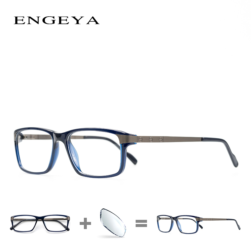 TR90 Männer Klar Mode Brillen Marke Designer Optische Myopie Rezept ...