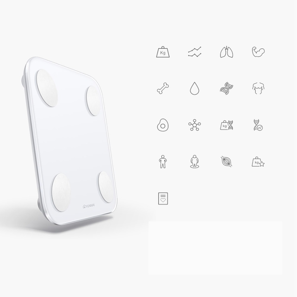 Xiaomi Yunmai Mini 2 Smart Body Fat Scale 5