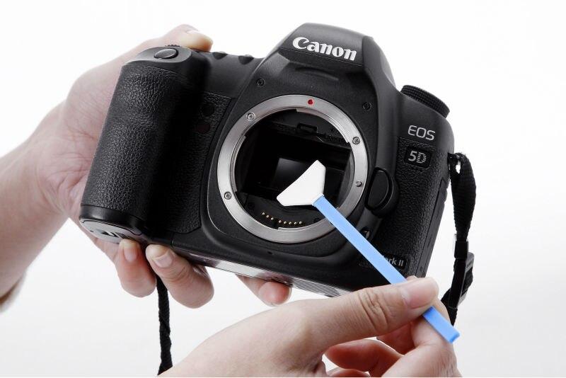 Fotograma completo sensor CCD DSLR limpieza + sensor líquido de ...