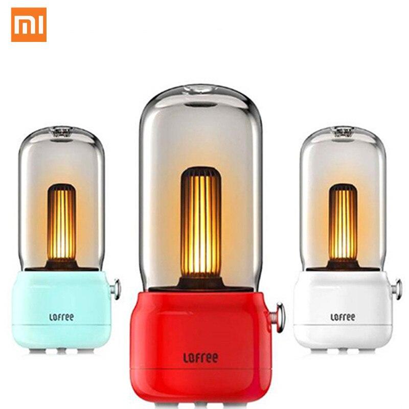 Nouveau Xiaomi Lofree CANDLY rétro lumière réglable lumineux USB charge filaire wo Modes de lumière chaud comme jamais chaud sensation environnante